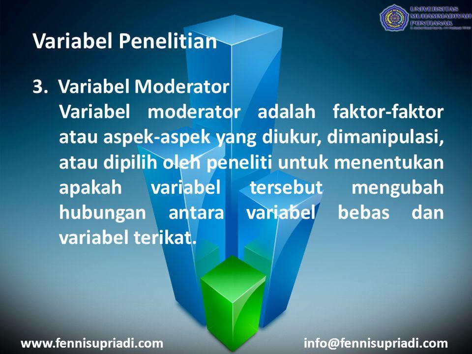 Variabel Penelitian 3.