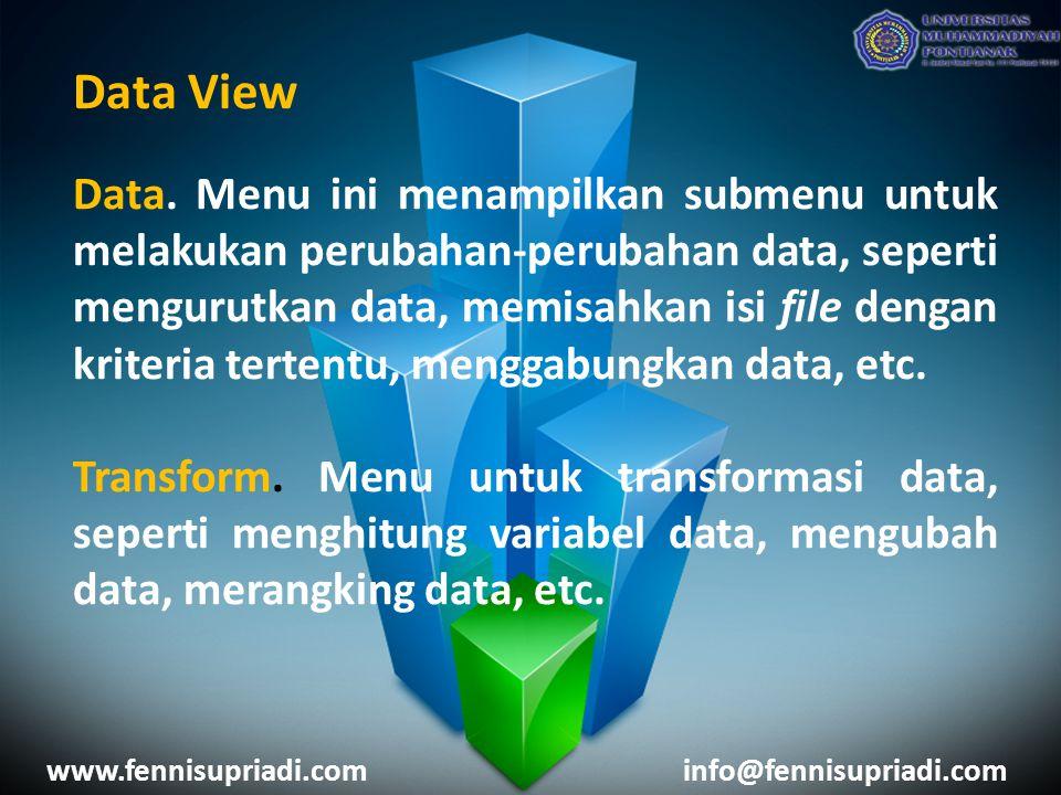 Data View Data.