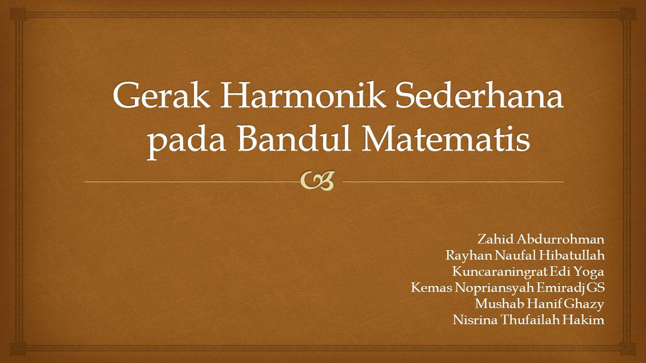 Zahid Abdurrohman Rayhan Naufal Hibatullah Kuncaraningrat Edi Yoga Kemas Nopriansyah Emiradj GS Mushab Hanif Ghazy Nisrina Thufailah Hakim