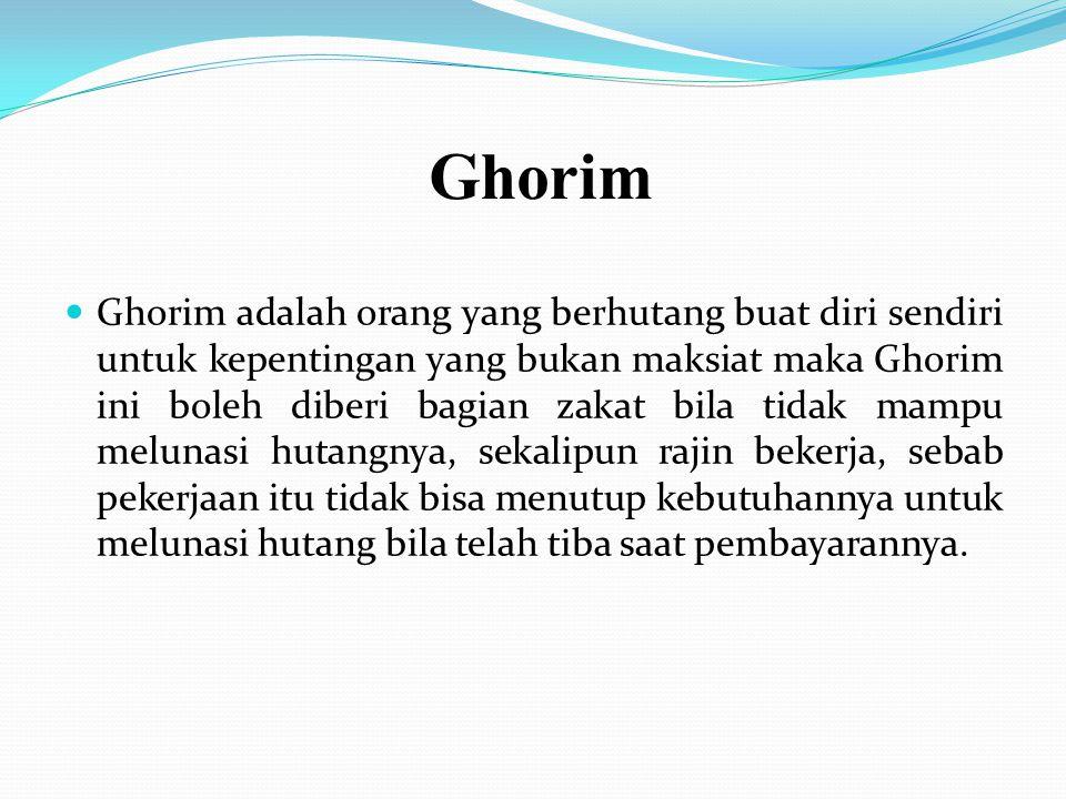 Ar Riqob Riqob adalah budak-budak mukathab (yang ingin memerdekakan diri) yang perjanjian kitabahnya sah; mukatab diberi oleh tuannya ijin untuk menca