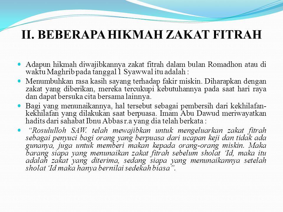 Adapun bagi pemilik zakat, sekali-kali tidak boleh untuk memindah- mindahkan zakatnya (Naqluz Zakat) dari daerah setempat ke daerah berlainan dan zakatnya dinilai tidak sah, selagi para mustahiq ada di daerah itu.