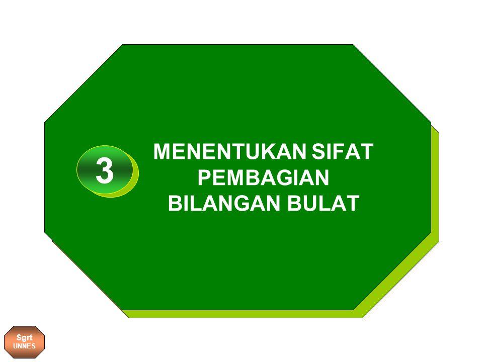 MENENTUKAN SIFAT PEMBAGIAN BILANGAN BULAT 1 3