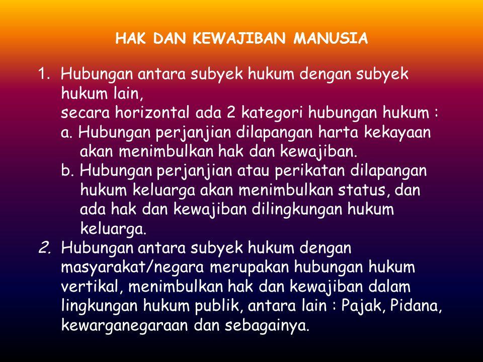 HUKUM WARISAN YANG BERLAKU DI INDONESIA bagi orang-orang Indonesia asli pada pokoknya berlakulah Hukum Adat, sesuai dengan sifat kekeluargaannya bagi orang-orang Indonesia asli yang beragama Islam di pelbagai daerah ada pengaruh yang nyata dari peraturan warisan dari Hukum Agama Islam.