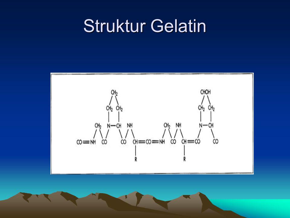 Struktur Gelatin