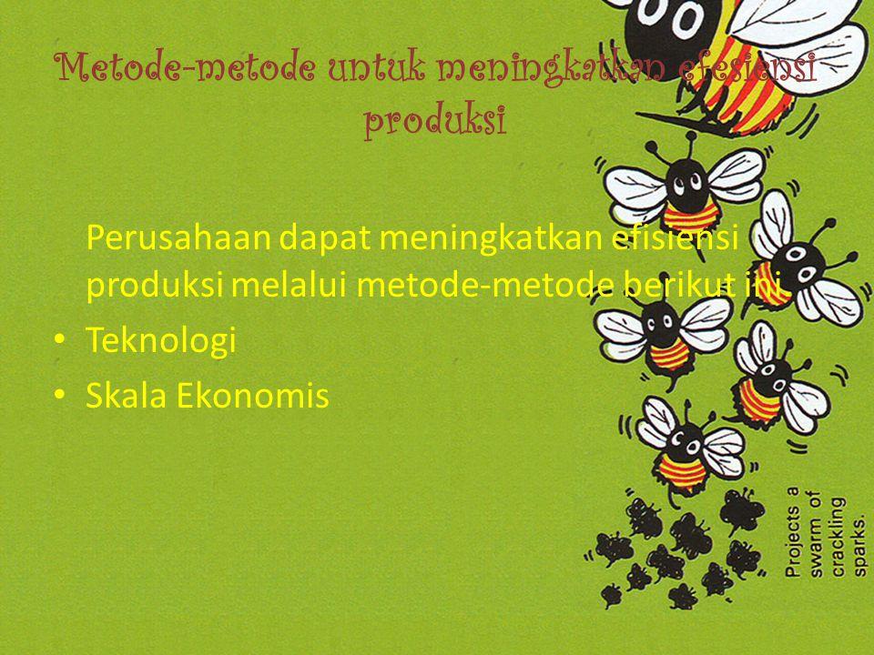 PENDAHULUAN Perusahaan didirikan untuk menghasilkan suatu produk barang atau jasa.