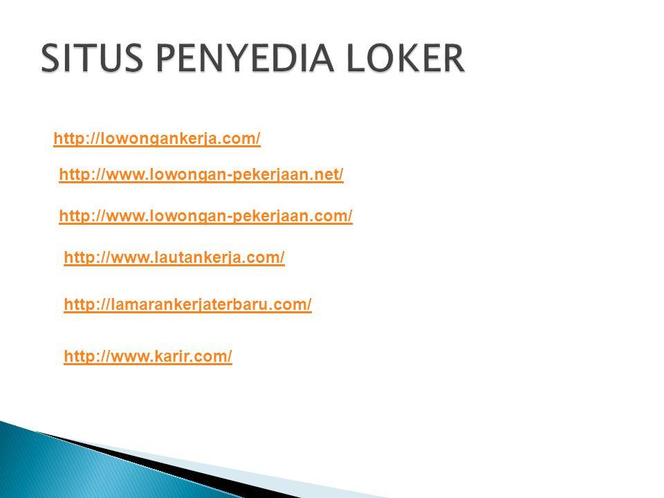 http://lowongankerja.com/ http://www.lowongan-pekerjaan.net/ http://www.lowongan-pekerjaan.com/ http://www.lautankerja.com/ http://lamarankerjaterbaru.com/ http://www.karir.com/