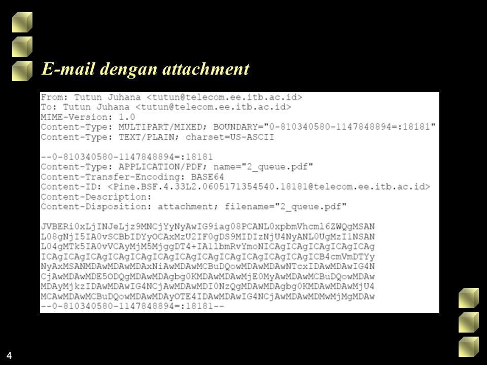 4 E-mail dengan attachment