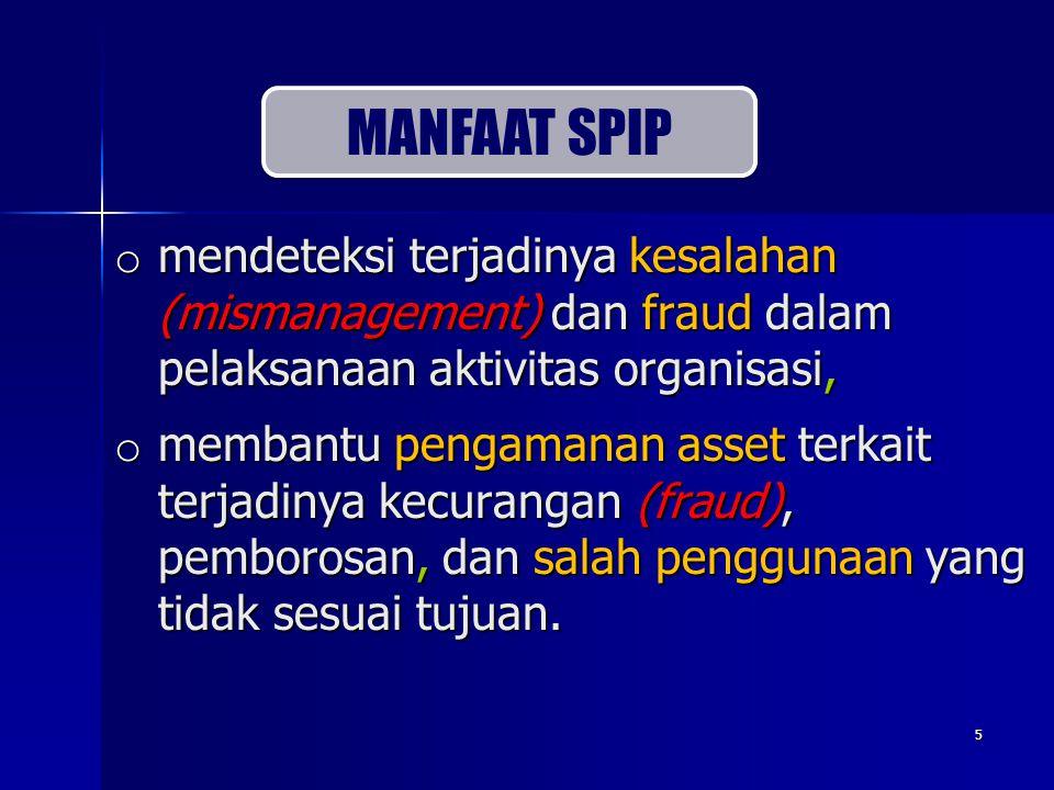 6 o Sistem pengelolaan Keuangan Negara harus akuntabel dan transparan.