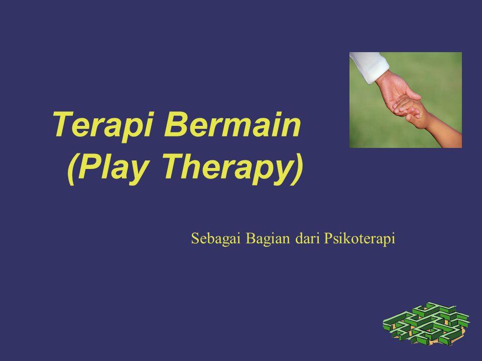 Terapi Bermain (Play Therapy) Sebagai Bagian dari Psikoterapi