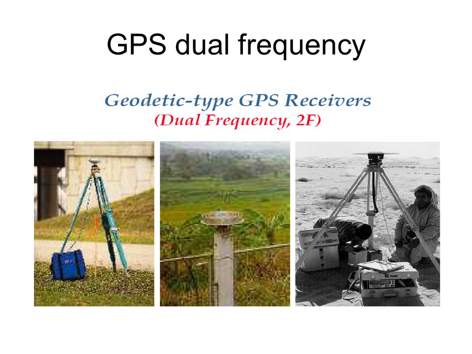 GPS dual frequency