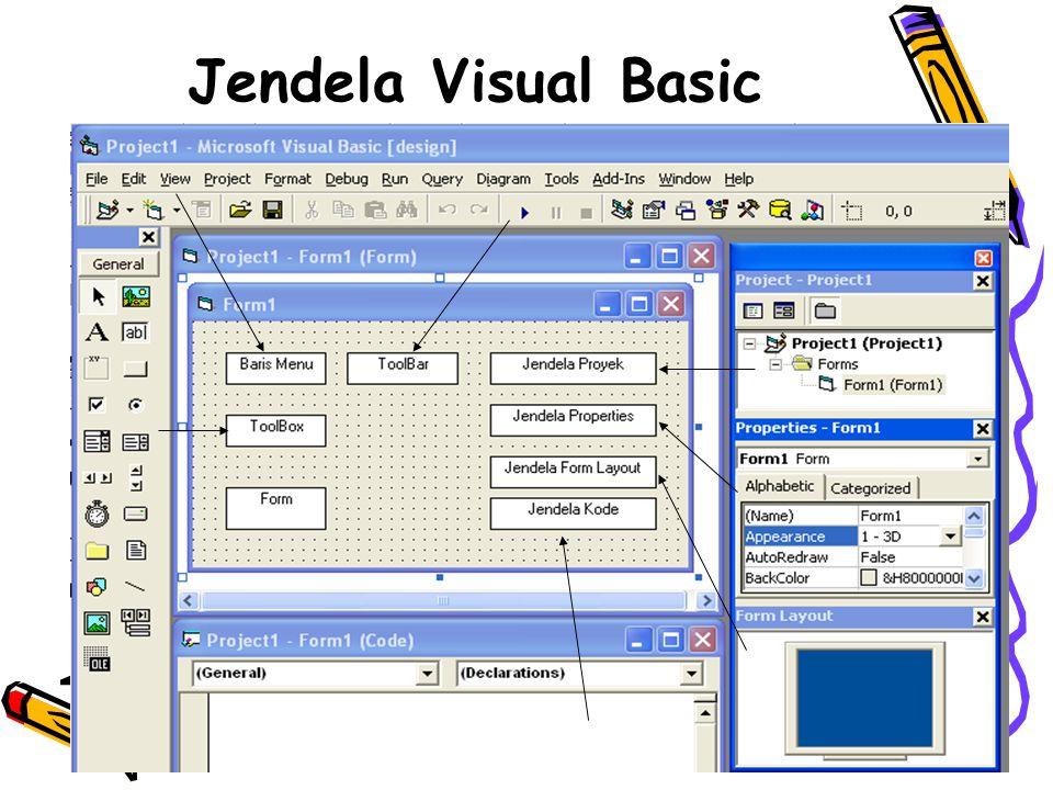 3 Jendela Visual Basic