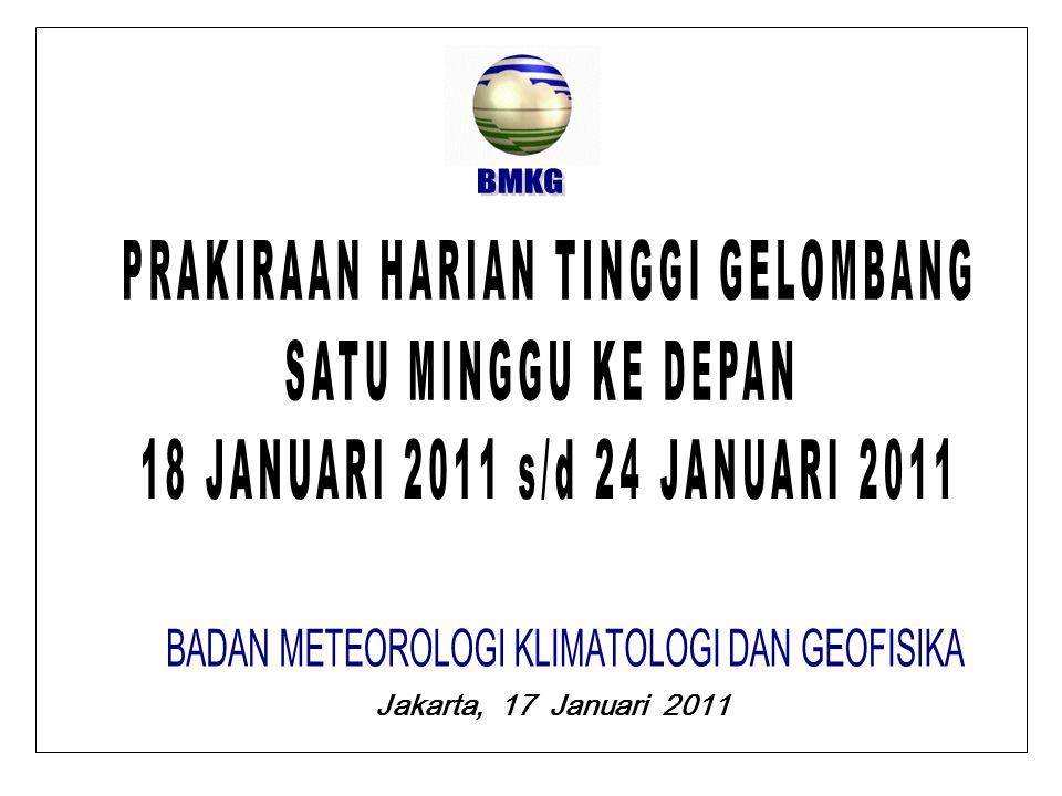 Jakarta, 17 Januari 2011