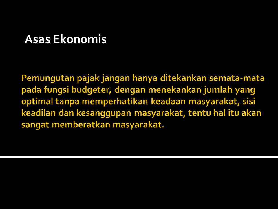 Asas Ekonomis