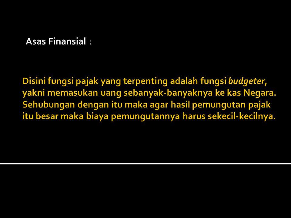Asas Finansial :
