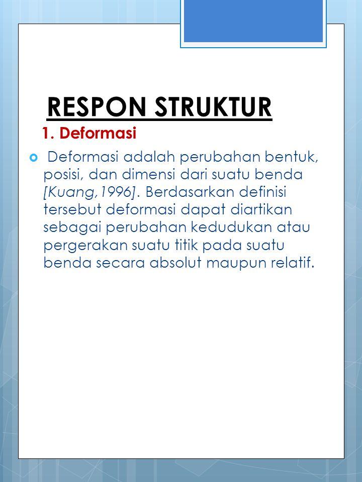 RESPON STRUKTUR 1.