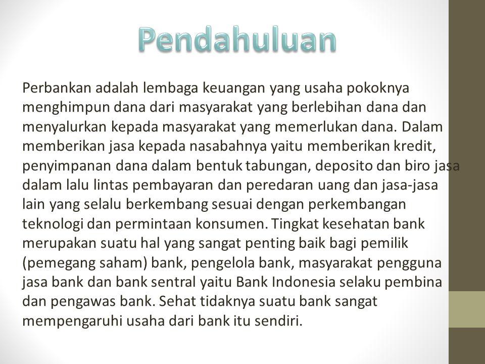Perbankan adalah lembaga keuangan yang usaha pokoknya menghimpun dana dari masyarakat yang berlebihan dana dan menyalurkan kepada masyarakat yang meme