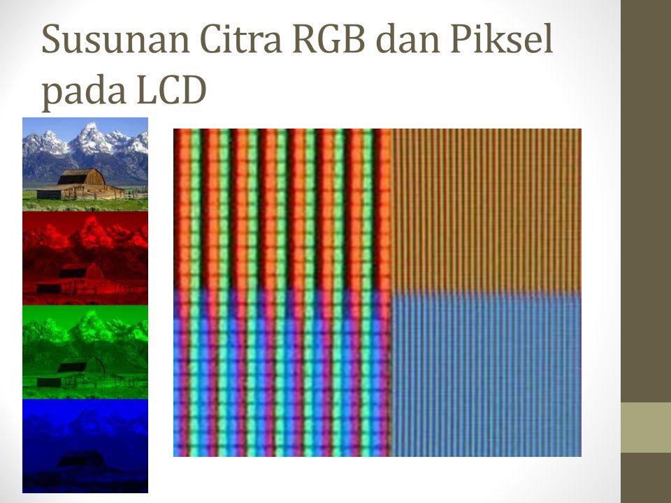 Susunan Citra RGB dan Piksel pada LCD