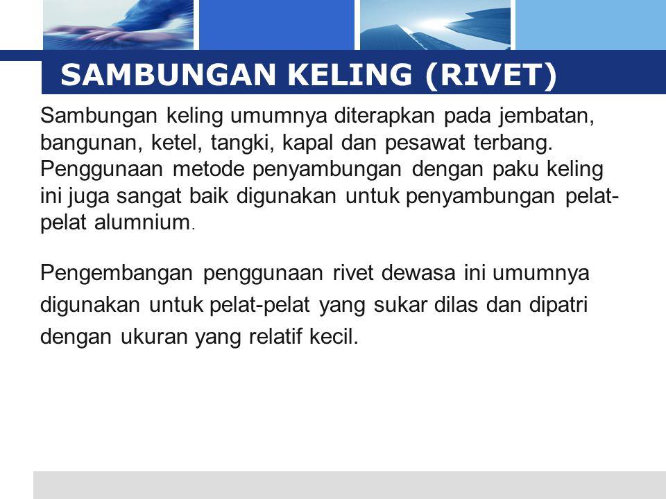 L o g o SAMBUNGAN KELING (RIVET)