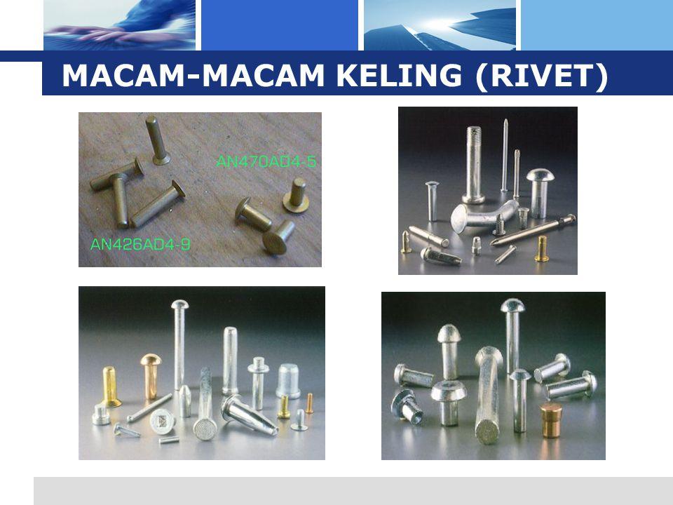 L o g o MACAM-MACAM KELING (RIVET)