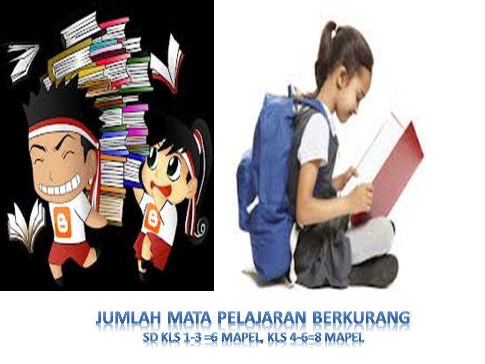 Perubahan Pola Pikir Pembelajaran SD/MI NoRumusan Kurikulum Baru 1Tidak mengenal mata pelajaran: -Merujuk kepada kompetensi inti yang bebas mata pelajaran -Pembelajaran terpadu 2Diawali dengan mengajak siswa untuk mengamati dan menanya: -Menahan diri untuk memberitahu -Menahan diri untuk tidak banyak bertanya, mengajak siswa untuk bertanya 3Bahasa Indonesia sebagai penghela pengetahuan  diawali dan diakhiri dengan penguatan Bahasa Indonesia 4Keterampilan berbahasa (semi formal dan formal) harus didahulukan dari keterampilan lainnya 5Matematika bukan berhitung: ada pola, bentuk, dll, PJOK-SBK juga bukan keterampilan psikomotorik,....