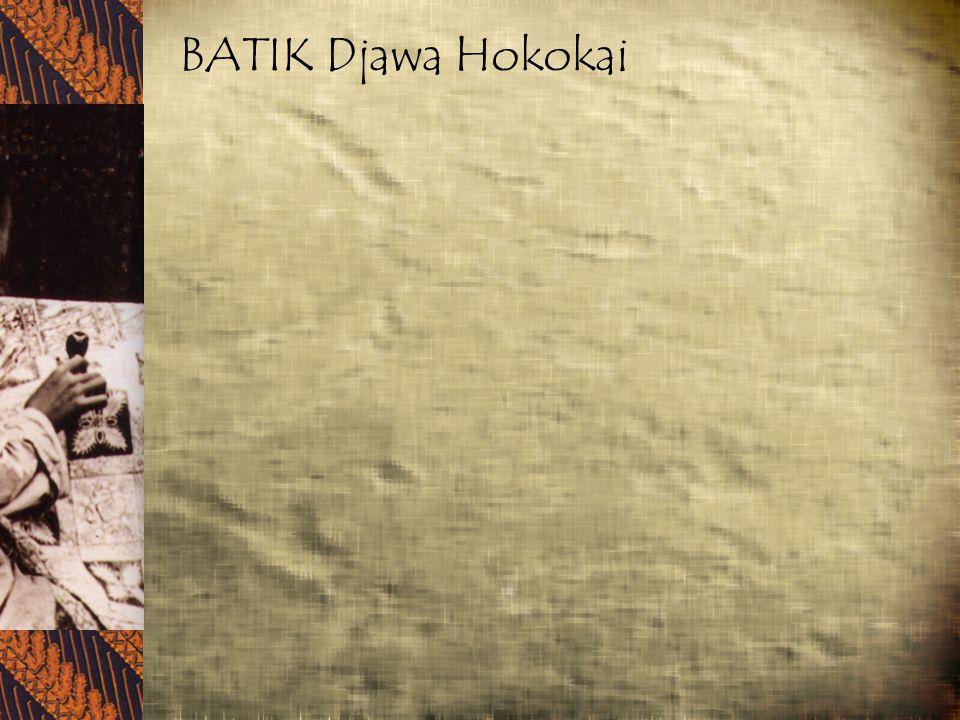 BATIK Djawa Hokokai