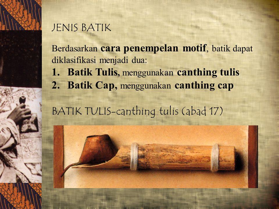 PERTANYAAN 1.Bagaimana bila motifnya bukan berasal dari asli kebudayaan Indonesia.