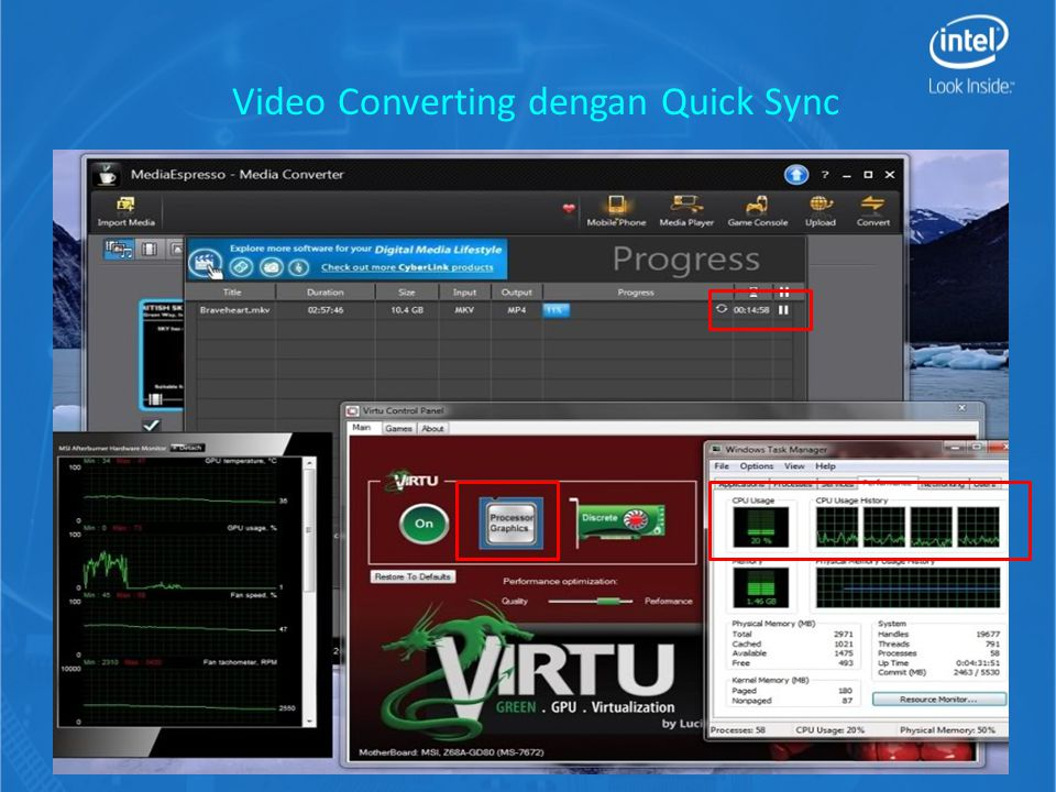 Video Converting dengan Quick Sync