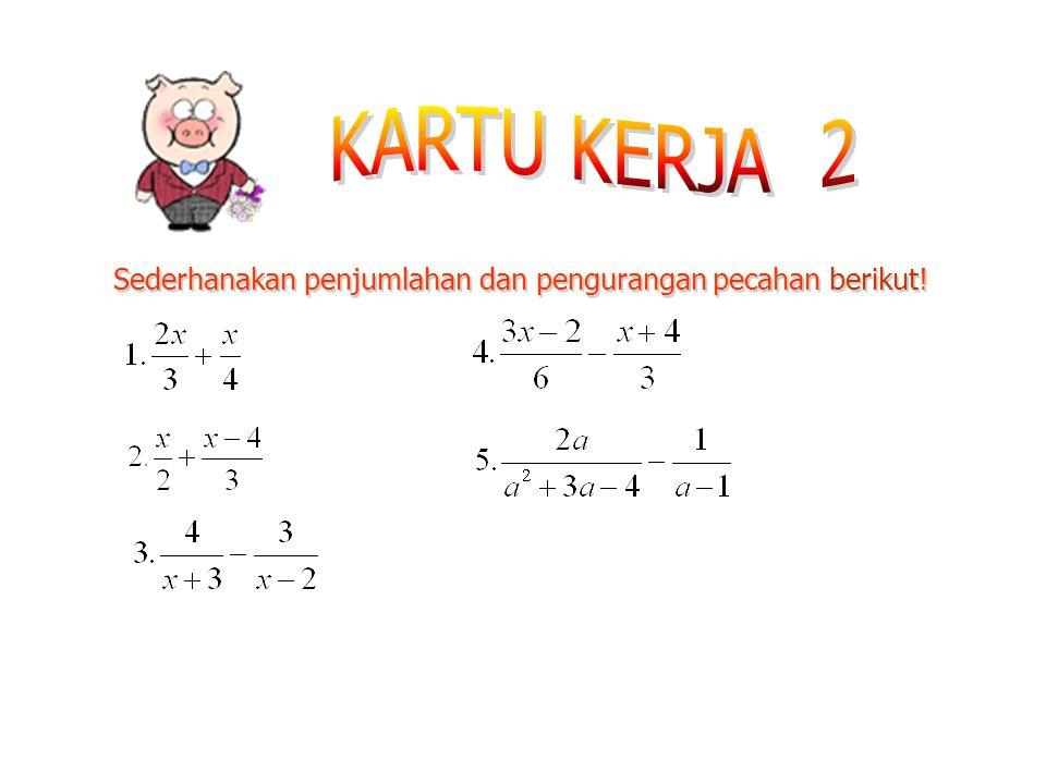 Contoh 5: Contoh 4: Dari p menjadi 2p berarti dikali dengan 2 Contoh 3: