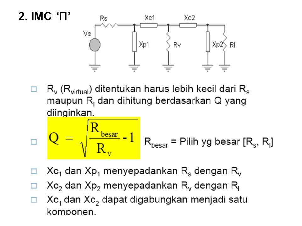 2. IMC 'Π'