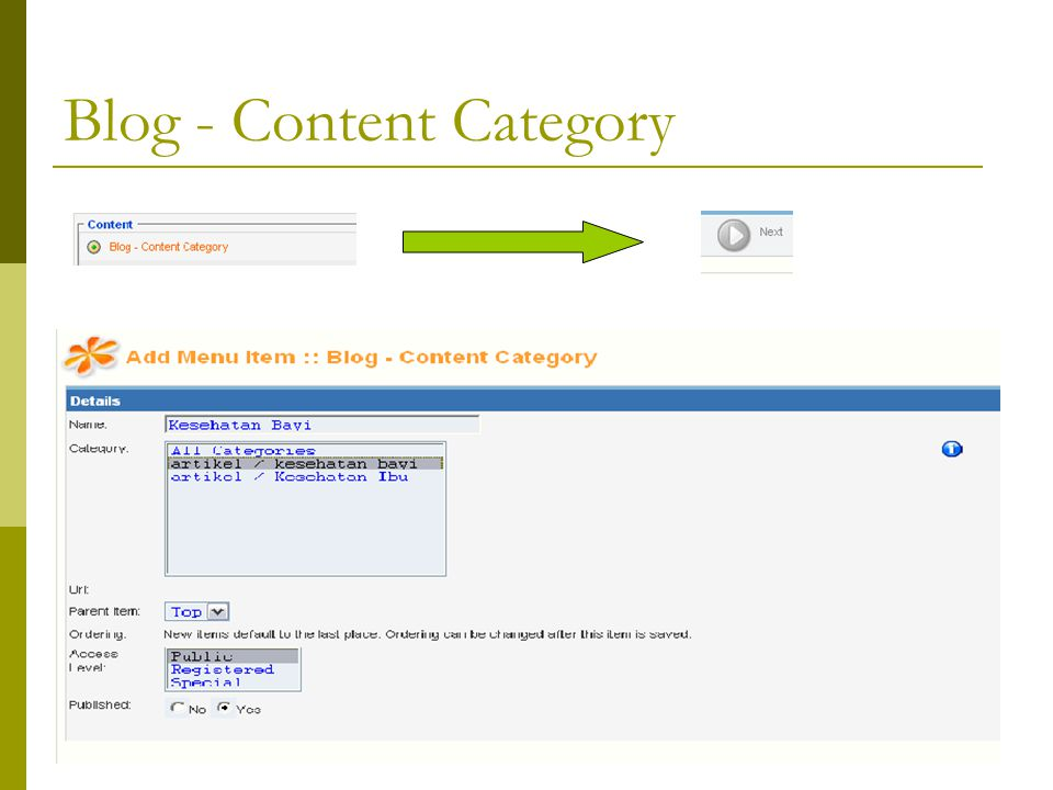 Blog - Content Category
