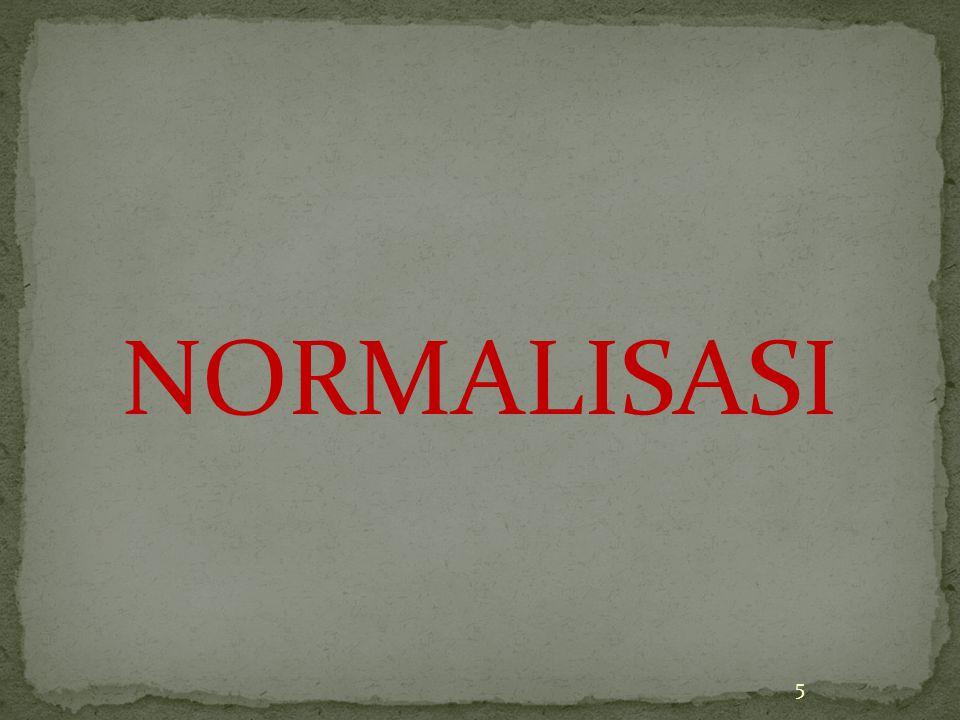 NORMALISASI 5