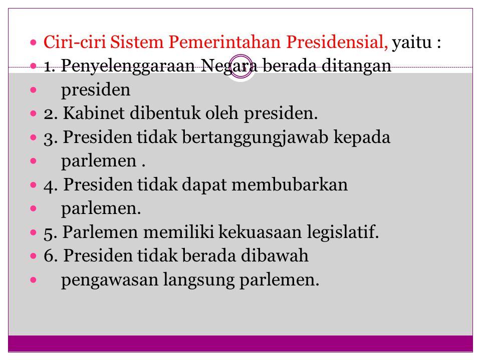Kelebihan dan Kekurangan Sistem Pemerintahan Parlementer 16 Kekebihan 1.