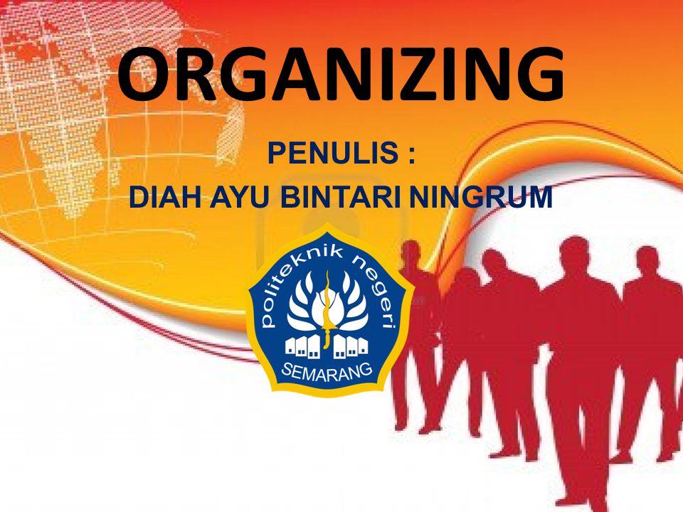 ORGANISASI BERDASAR BENTUK – LINE ORGANIZATION – LINE AND STAFF ORGANIZATION – FUNCTIONAL ORGANIZATION – COMMITTEE ORGANIZATION
