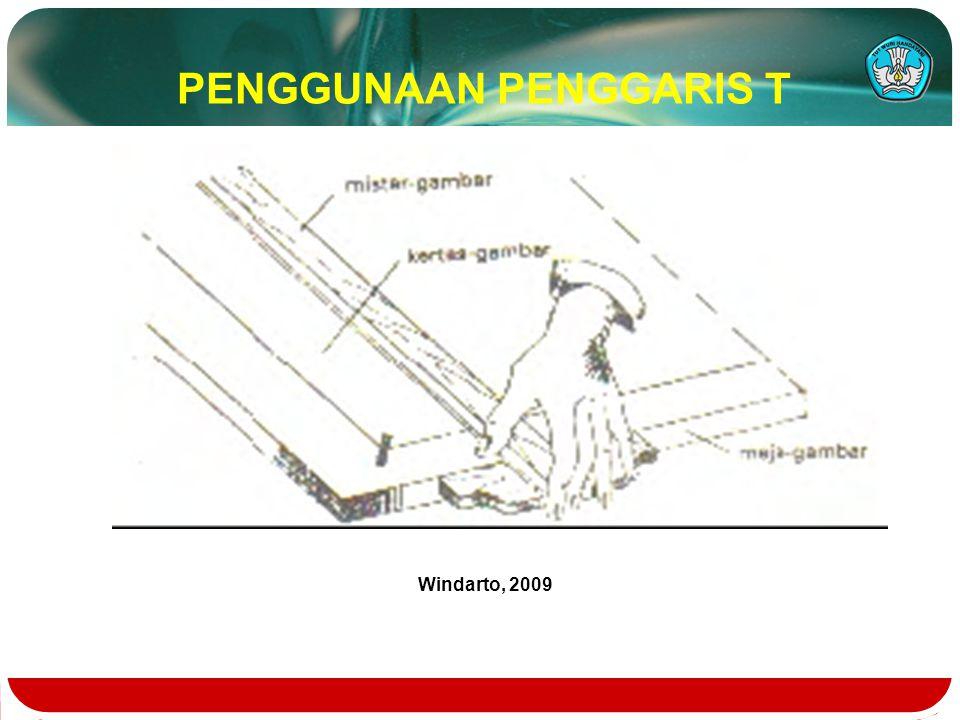 PENGGUNAAN PENGGARIS T Windarto, 2009
