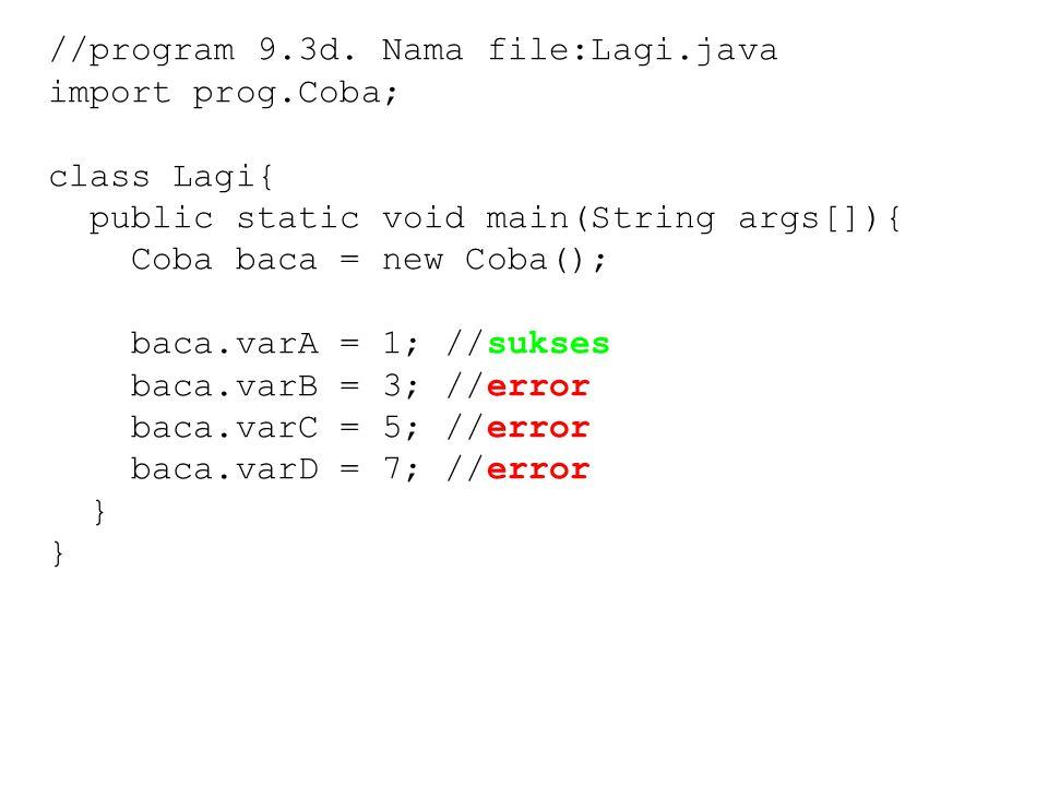 //program 9.3d.