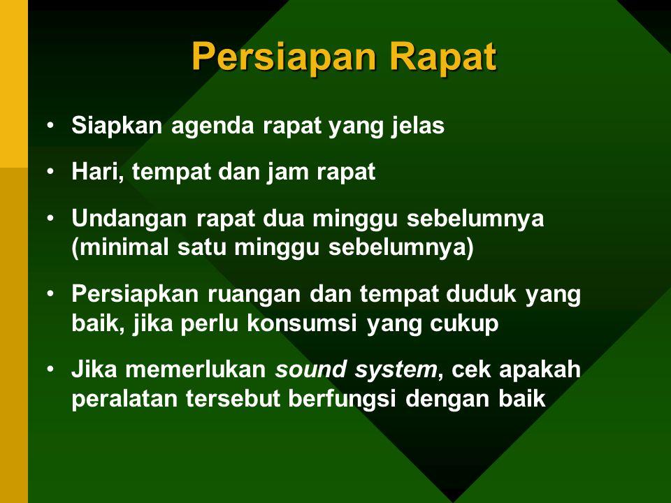 Tipe Peserta Rapat 6.Tipe si penolak (landak).