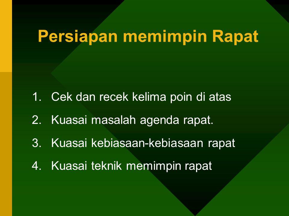 Tipe Peserta Rapat 7.Tipe si cuek (kudanil).