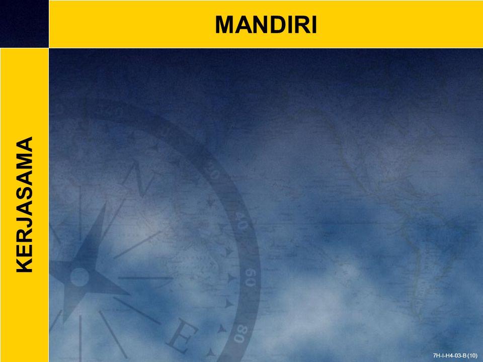 MANDIRI 7H-I-H4-03-B (10) KERJASAMA
