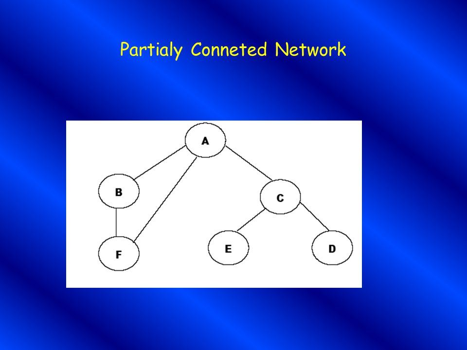 Partialy Conneted Network