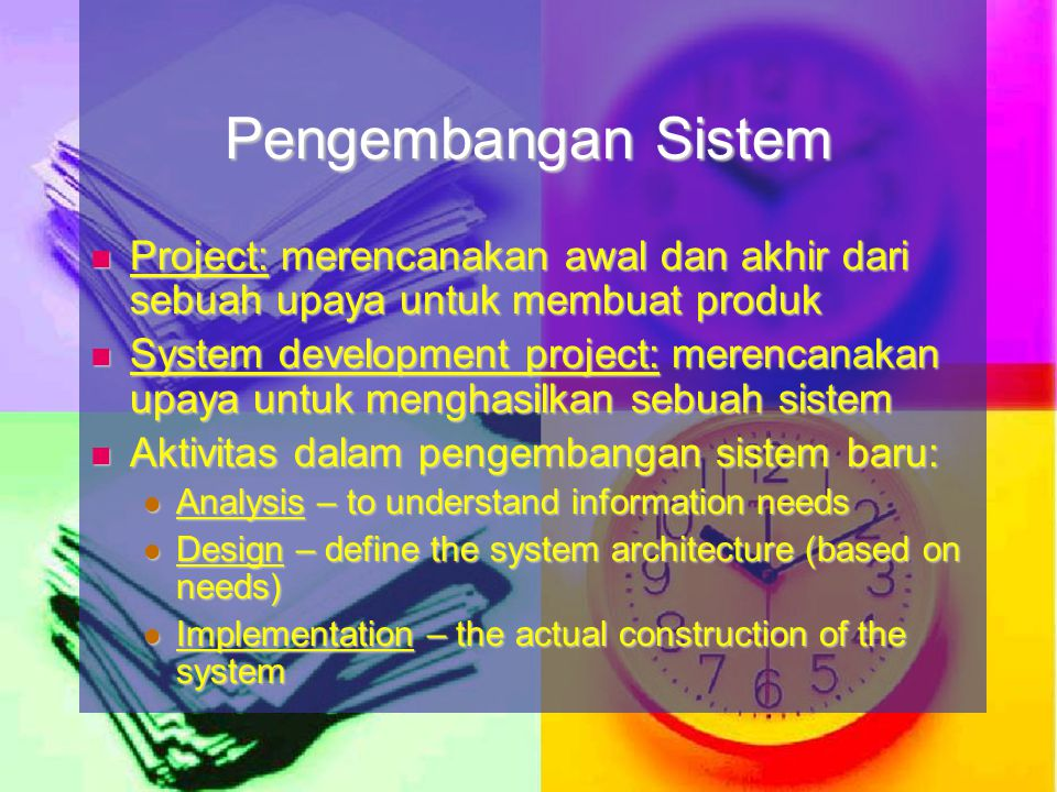 The systems development life cycle (SDLC) is a general term used to describe the method and process of developing a new information system The systems development life cycle (SDLC) is a general term used to describe the method and process of developing a new information system Without the structure and organization provided by SDLC approach projects are at risk for missed deadline, low quality etc.