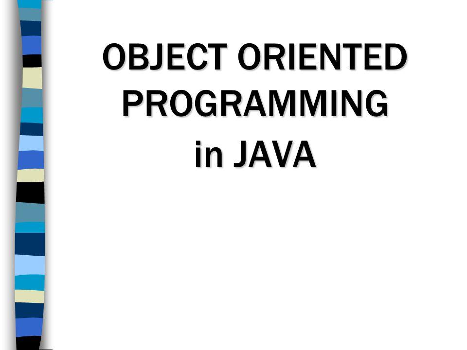 FAKTOR PENDORONG OOP 1.Kompleksitas program yang semakin rumit 2.