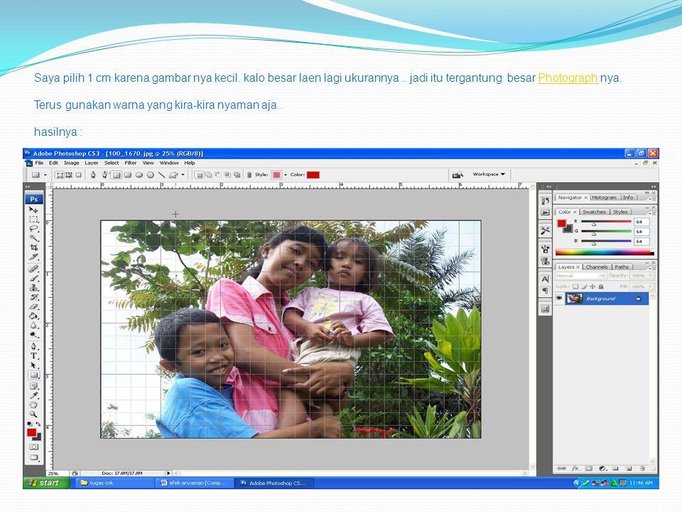 Duplikat layer background sebanyak 2 kali, jadi Tekan CTRL + J sebanyak 2 kali.