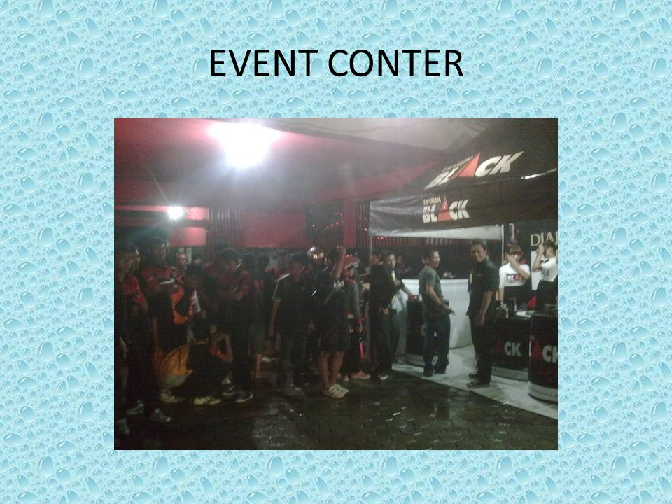 EVENT CONTER