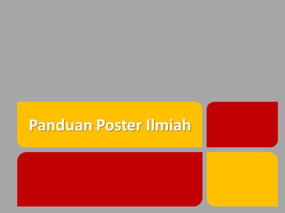 Panduan Poster Ilmiah