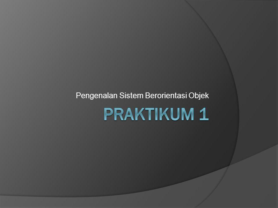 Pengenalan Sistem Berorientasi Objek