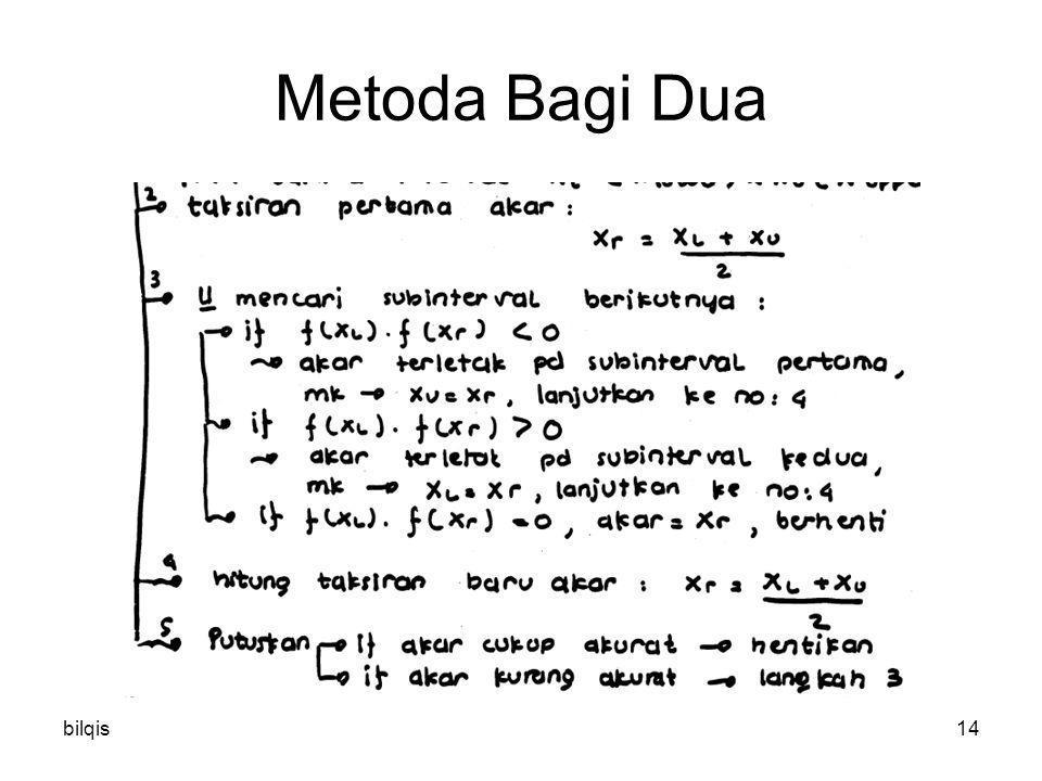 bilqis14 Metoda Bagi Dua