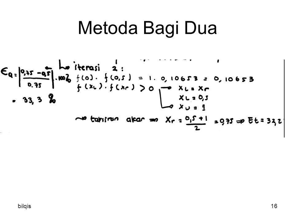 bilqis16 Metoda Bagi Dua