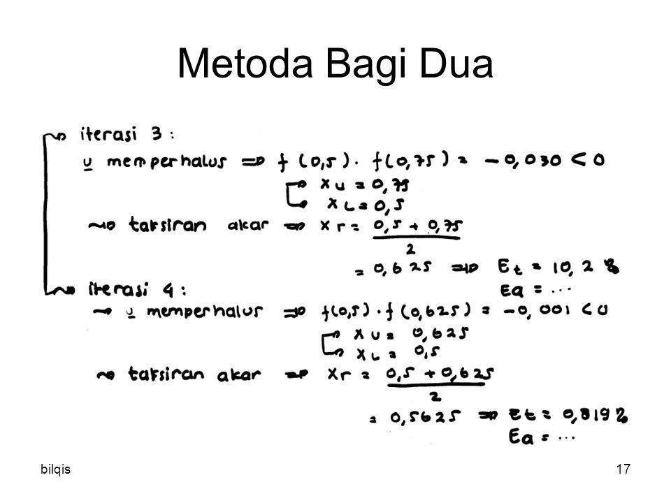 bilqis17 Metoda Bagi Dua
