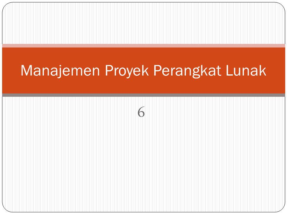6 Manajemen Proyek Perangkat Lunak