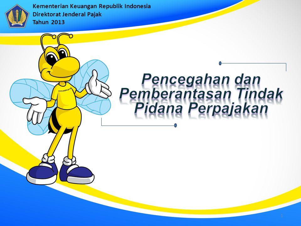 Kementerian Keuangan Republik Indonesia Direktorat Jenderal Pajak Tahun 2013 1